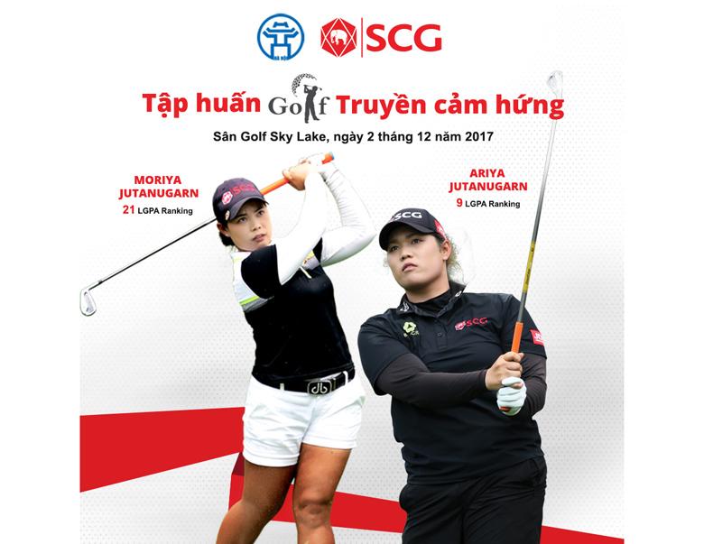 SCG đưa cặp chị em golf thủ hàng đầu thế giới tới Việt Nam