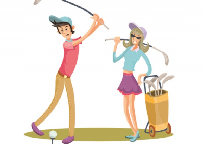 Mang đam mê golf đến với bạn đời
