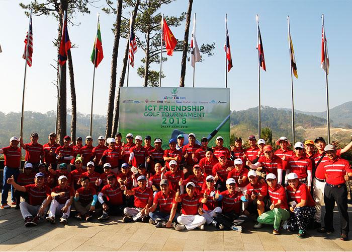 """SAM Tuyền Lâm Golf & Resorts hân hạnh chào đón 53 golfer từ miền Bắc về Đà Lạt tham gia giải Golf """"ICT Friendship Golf Tournament 2018″"""