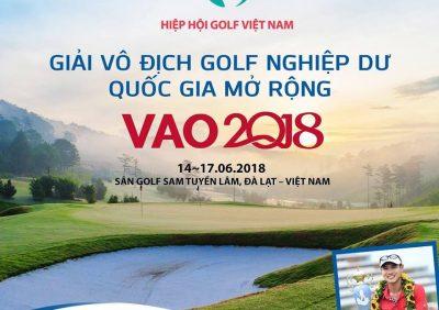 Giải Vô địch Nghiệp dư Quốc gia Mở rộng 2018 (VAO2018)