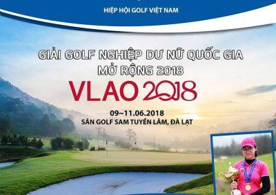 """SAM Tuyền Lâm Golf & Resorts vinh dự là nhà tài trợ chính cho """"Giải Vô Địch Golf Nữ Nghiệp Dư Quốc gia Mở Rộng 2018 (VLAO2018)""""-"""
