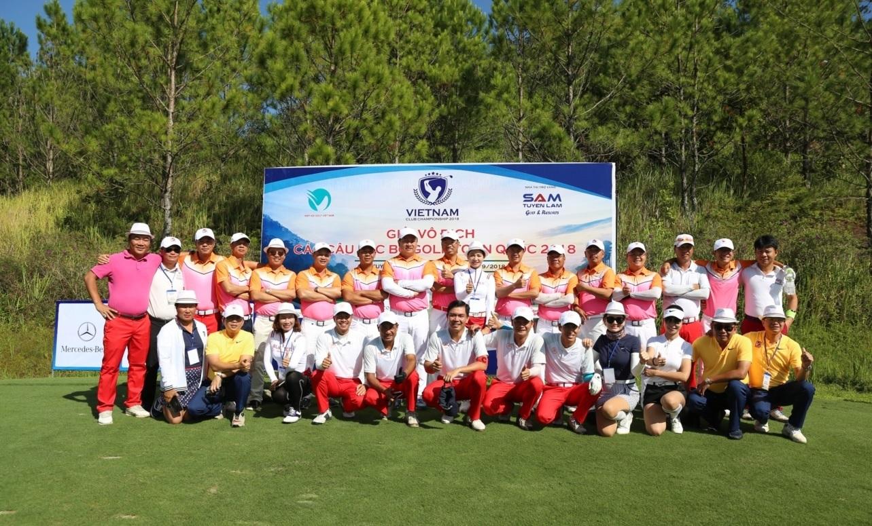 Vinh quang gọi tên G&L 92-95, TFG Ladies tại giải Vô địch các CLB Golf Toàn quốc