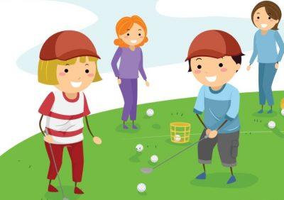 Làm sao để trẻ thích chơi golf