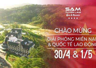 """Kết hợp chơi Golf & Buffet """"Trọn niềm vui"""" 30/04 tại thiên đường nghỉ dưỡng ở Đà Lạt"""