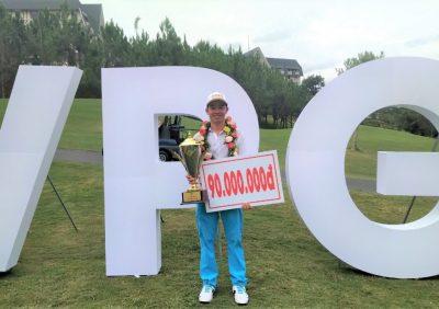Nguyễn Gia Quân vô địch VPG Tour ở lần đầu tiên tham dự tại sân GOLF SAM TUYỀN LÂM