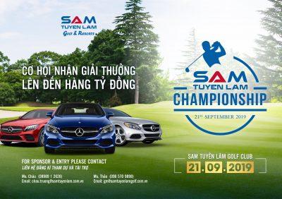 Sự kiện đặc biệt nào sắp diễn ra vào tháng 9 này tại SAM Tuyền Lâm Golf Club?