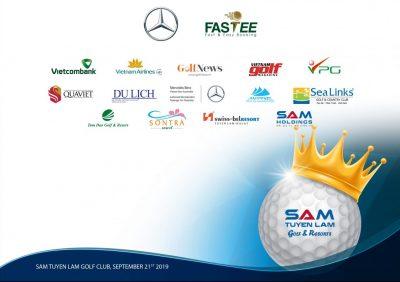 Các Quý Nhà tài trợ đang đồng hành cùng giải đấu SAM Tuyền Lâm Championship 2019.
