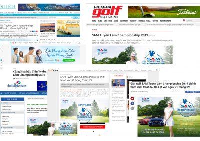 Thông Tin Giải SAM Tuyền Lâm Championship 2019 Ở Các Trang Tin Tức Điện Tử
