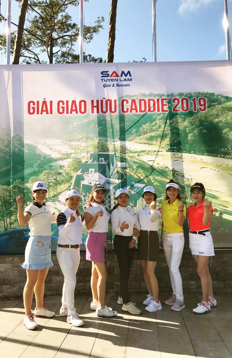 Giải giao hữu Caddies giữa 03 sân SAM Tuyền Lâm – Đà Lạt Palace – 1.200