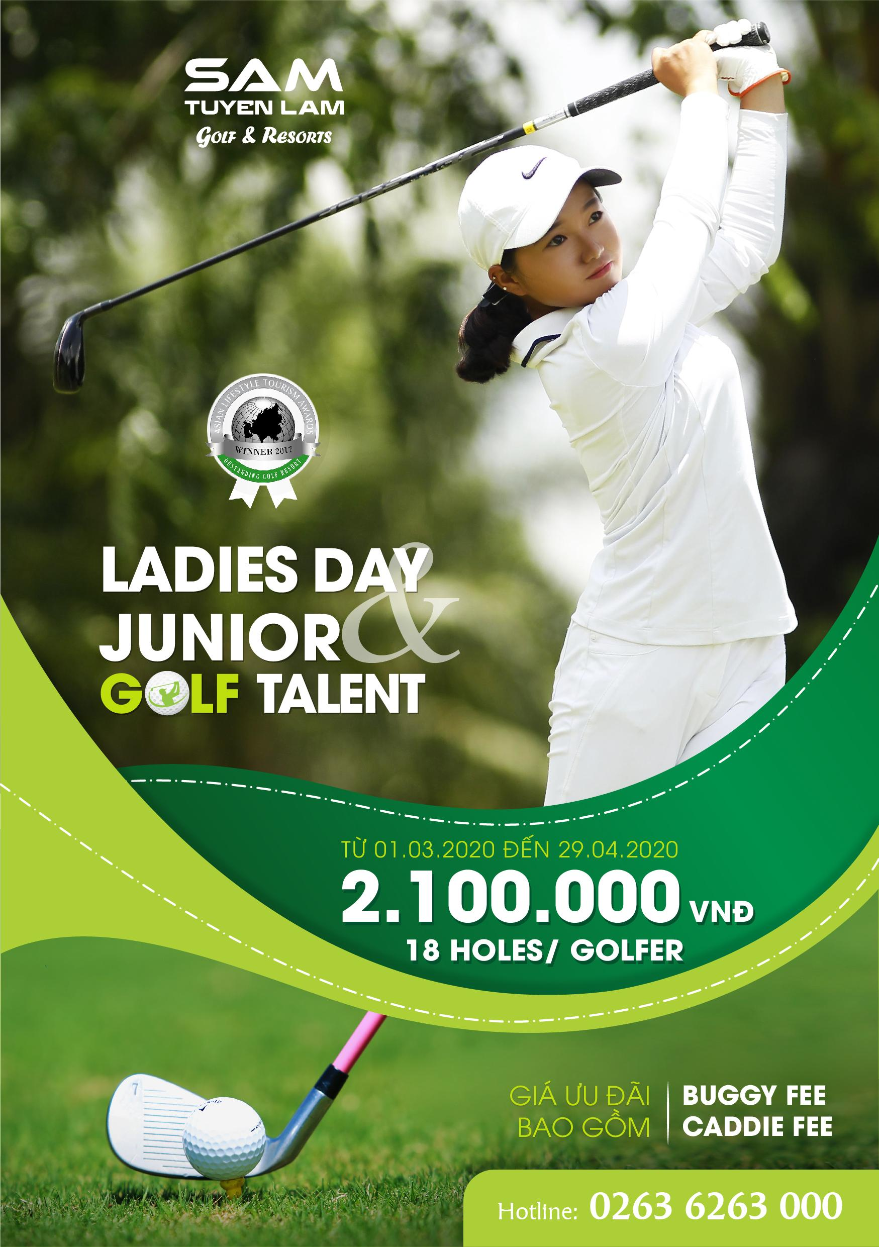 LADDIES & JUNIOR'S GOLF PROMOTION