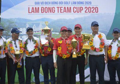 Lam Dong Team Cup 2020: Tuyển Đà Lạt thắng kịch tính trước tuyển Đức Trọng