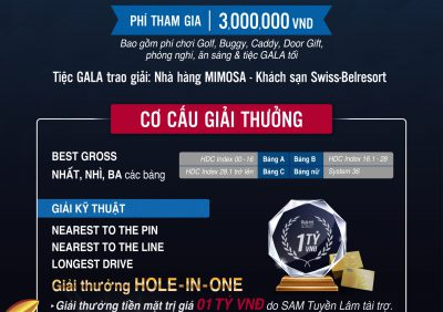 Giải Golf Autumn Championship 2020