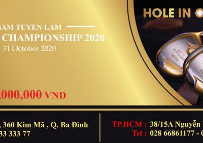 Honma – Nhà tài trợ Kim Cương cho giải HIO tại Giải SAM TUYEN LAM AUTUMN CHAMPIONSHIP 2020.