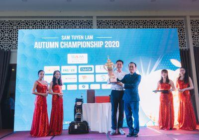 """XIN CHÚC MỪNG GOLFER VÔ ĐỊCH GIẢI GOLF """"SAM TUYEN LAM AUTUMN CHAMPIONSHIP 2020″"""