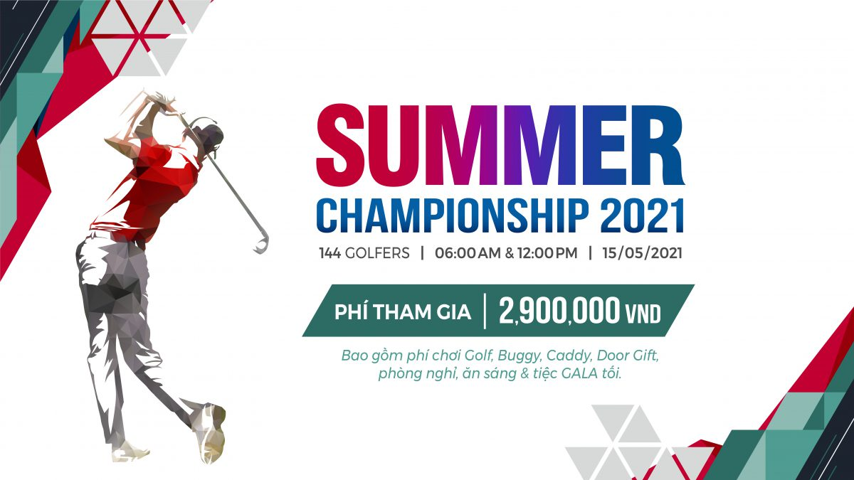 Giải Golf Summer Championship 2021